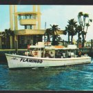 Deep Sea Fishing Boat The Flamingo Fort Lauderdale Florida Captain Frank Evans 1960 Business Card