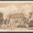 Governors Palace Williamsburg Virginia White Border Postcard 333