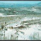 Birds Eye View Stratton Mountain Vermont Ski Resort Base Camp Chrome Postcard 407