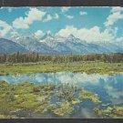 Splendid View of Grand Teton National Park 1969 Chrome Postcard 1226