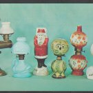 Advertising Postcard For Victorian Miniature Oil Lamps Price Guide Chrome Postcard