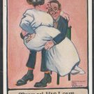 Truly! His Love Was Great! 1910 Comic Postcard 379