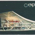 Expo 67 Montreal Canada Pavilion of the Soviet Union Chrome Postcard 1239