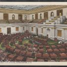 Senate Chamber U.S. Capitol Washington DC White Border Postcard 1245