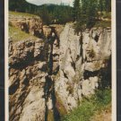 Maligne Canyon Jasper National Park Canadian Rockies Alberta Canada Chrome Postcard 1274