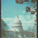 United States Capitol Building Washington DC Chrome Postcard 1279