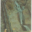 Seven Falls South Cheyenne Canon Colorado Springs Chrome Postcard 1290