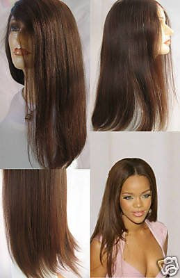 100% REMI INDIAN FULL LACE WIGS, LIGHT YAKI #1B, #2 12 INCHES