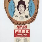 1977 Don Sutton Pepsi Cola Baseball Glove Disc