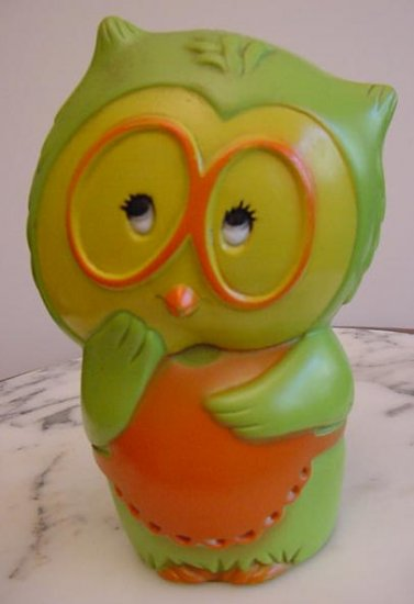 OWL BANK 1971 Vintage Tom Remo Character Bank