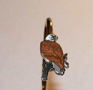 Eagle Metal Bookmark from Alaska