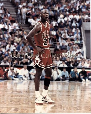 Michael Jordan Chicago Bulls 8x10 Color Photograph