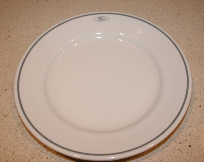 FORD MOTOR CO Dinner Plate Vintage Buffalo China