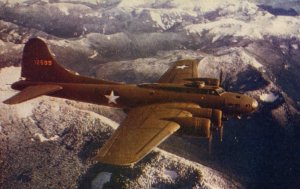 Flying Fortress Boeing B-17 Bomber Wesco Post Card