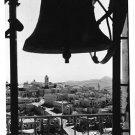 RPPC Christmas Bells Bethlehem, 50's post card