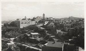 RPPC General View of Bethlehem, circa 50's Post Card