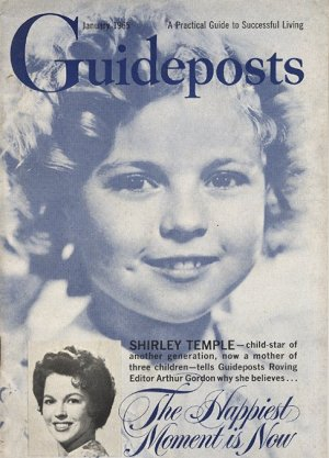 SHIRLEY TEMPLE Cover Guideposts January 1965