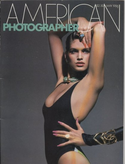 American Photographer May 1986 Cindy Crawford Victor Skrebneski