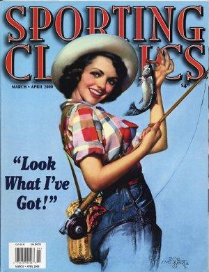 Zoe Mozert Cover Sporting Classics March 2000