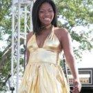 Gold Bubble Dress
