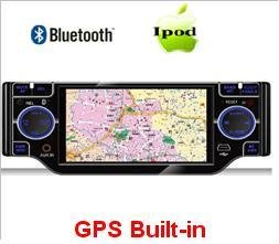 Model 4320 Single DIN DVD Player with GPS