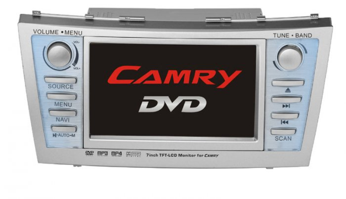 Toyota Camry In-Dash DVD Player with GPS Navigation System