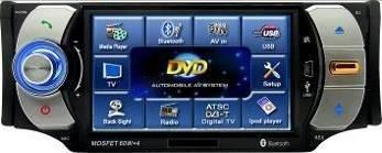 Model 4300 Single DIN In-Dash DVD Player