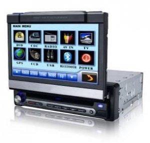 Model 7800 Single DIN In-Dash DVD Player