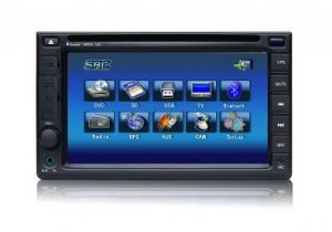 Model 7261 Double DIN In-Dash DVD Player with GPS Navigation