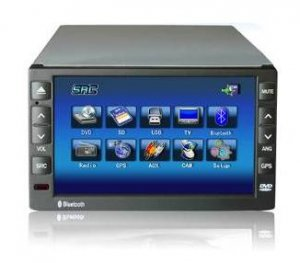 Model 7260 Double DIN In-Dash DVD Player