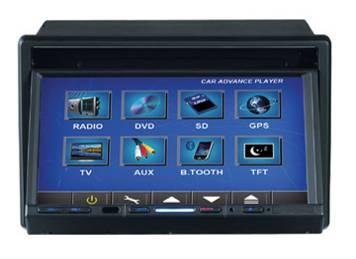 Model 7268 Double DIN In-Dash DVD Player