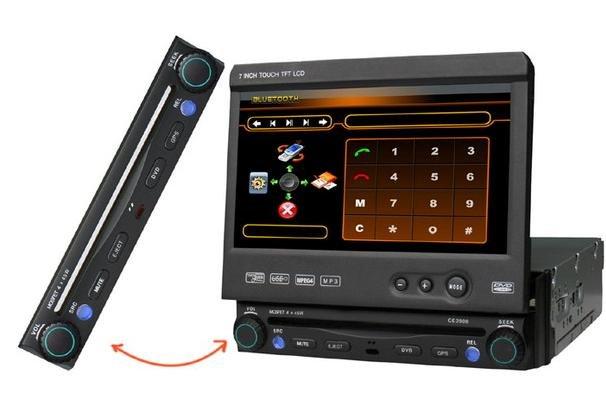 Model 9306 Single DIN In-Dash DVD Player