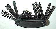 Multi Purpose Folding Hex Key