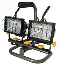 Twin 150 Watts Halogen Work Lights