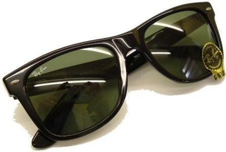 Ray Ban Wayfarer 2113 Originals Sunglasses 54mm Black/G15 - Brand New from U.K. Ray Ban Dealer