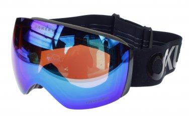 Oakley Flight Deck Factory Pilot Blackout Prizm Snow Goggle, Prizm Jade Iridium Lens