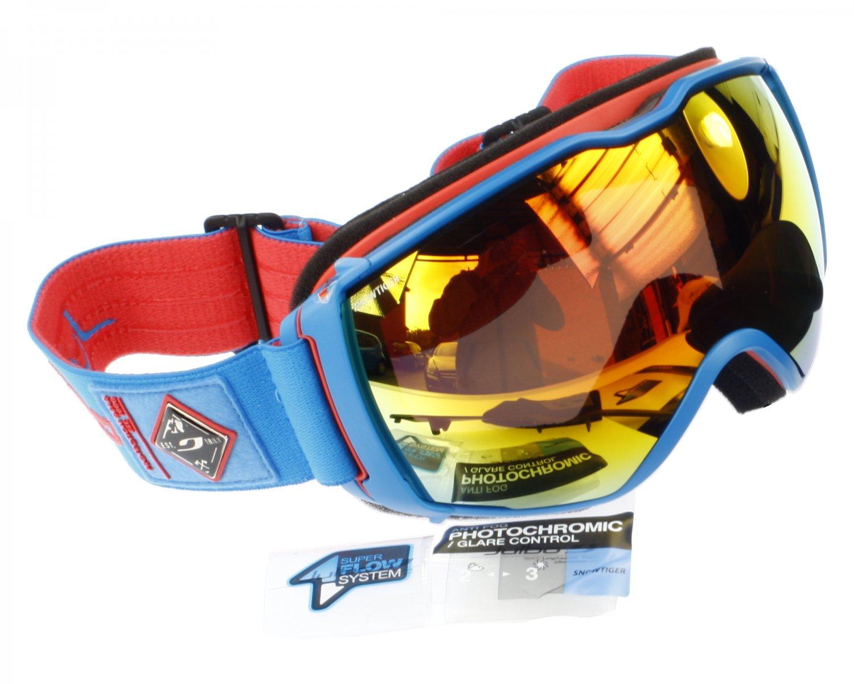 Julbo Aerospace Ski Goggle, Snow Tiger Photochromic Anti-Fog Double Lens, Superflow Ventilation