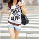 Free Keeps Evolving Alive White Top