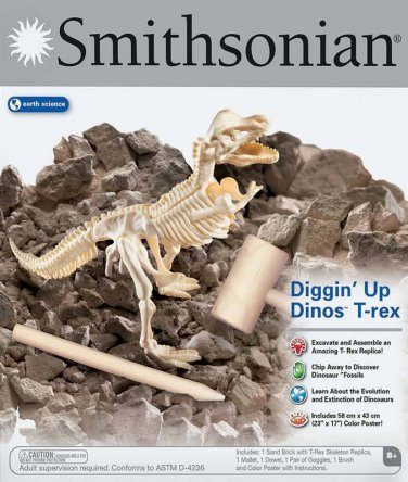 Smithsonian Diggin up Dinos T-Rex New in Box Eearth Science