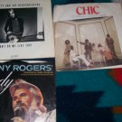 Lot 3 45 records Chic, Tom Petty and Kenny Rogers