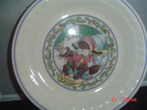Country Kids Collectors Recipe Plate