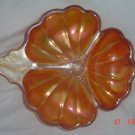 Carvnival Glass 3 leaf Clover Dishes