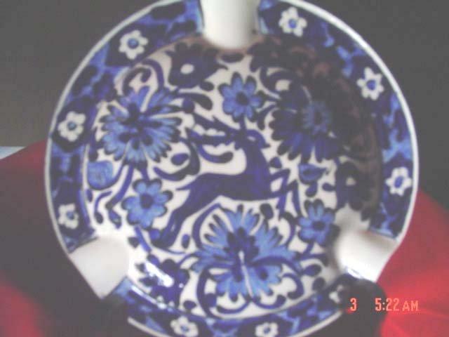 Handmade Pottery Decorative Ashtray