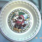 Country Kids Collectors Recipe Pie Plate
