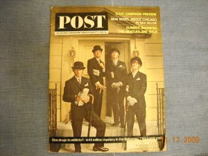 The Saturday Evening Post (1964) - The Beatles cover story