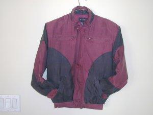 Boy's Burgundy Silk Jackets (M, Item#502)