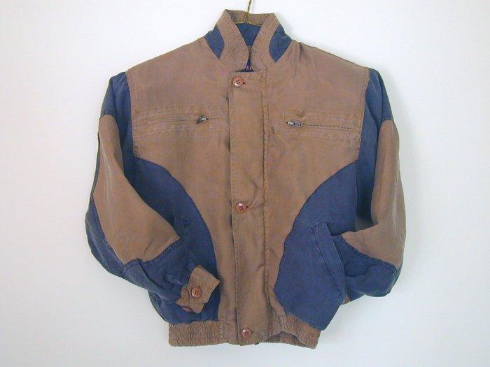 Boy's Brown Silk Jackets (L, Item#501)