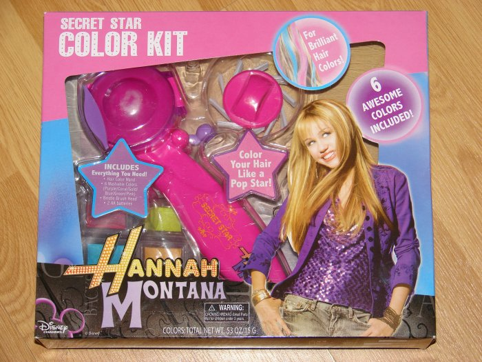 "Hannah Montana ""Secret Star"" Color Kit"