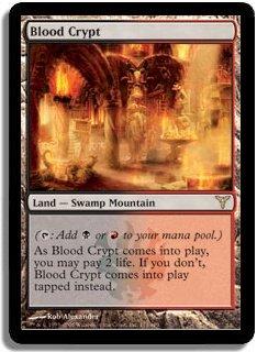 MTG Dissension Blood Crypt