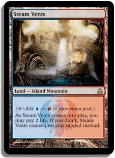 MTG Guildpact Steam Vents